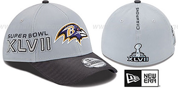 Ravens 'SUPER BOWL XLVII CHAMPS' Flex Hat by New Era