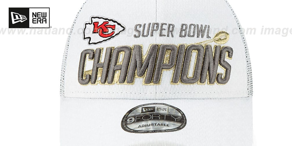 Chiefs 'SUPER BOWL LIV CHAMPS LOCKER ROOM' Hat by New Era