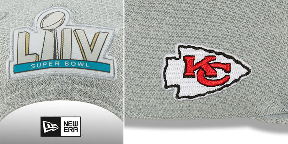 Chiefs 'SUPER BOWL LIV CHAMPIONS PARADE SNAPBACK' Hat by New Era